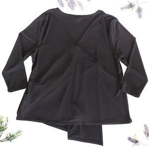 Cato Tops - Cato Black Top Size XL V-Neck Empire Waist